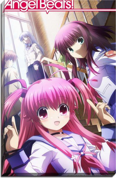 Angel Beats Anime Canvas