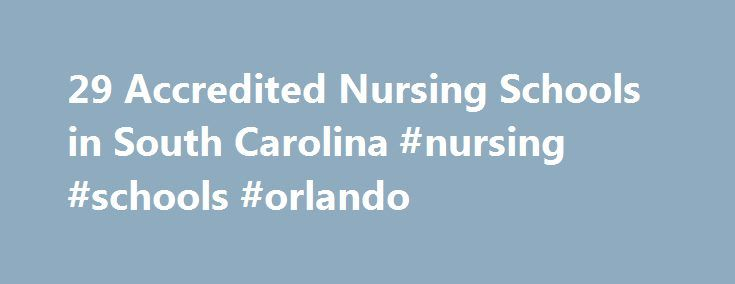 29 Accredited Nursing Schools in South Carolina #nursing #schools #orlando http://philadelphia.remmont.com/29-accredited-nursing-schools-in-south-carolina-nursing-schools-orlando/  # Find Your Degree Nursing Schools In South Carolina South Carolina has 29 accredited nursing schools where nursing faculty who teach nursing classes can find employment. The trends in South Carolina's nursing academic community can be evaluated by looking at the statistics and graphs below. Academia in nursing…