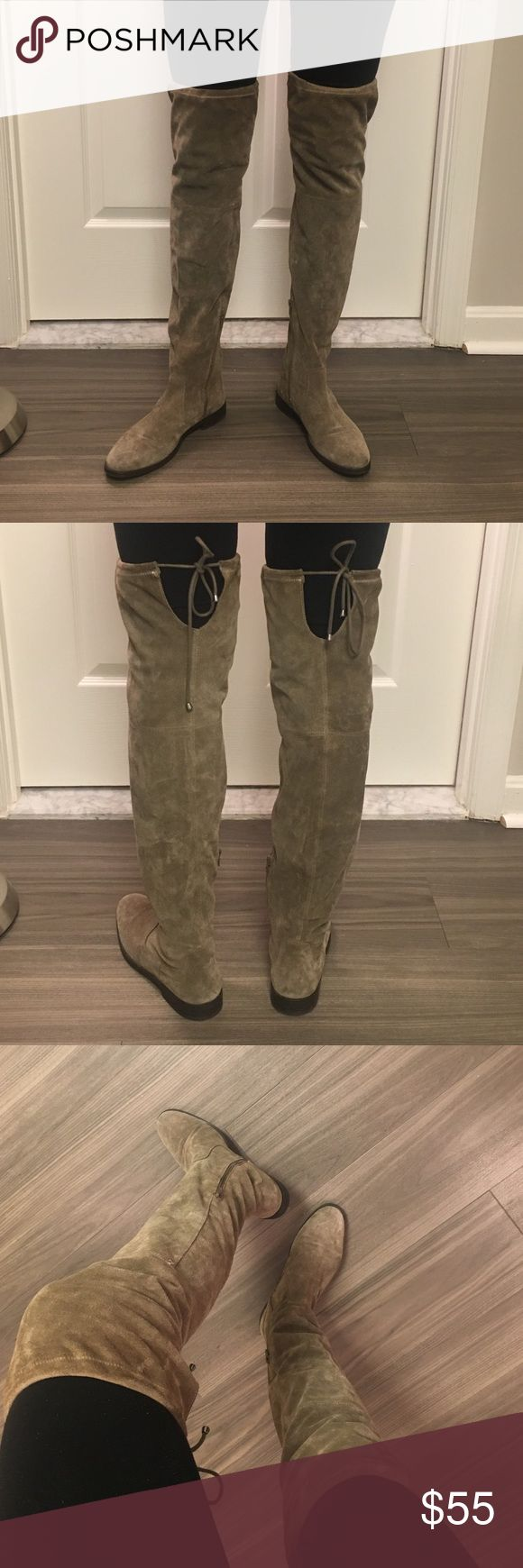 Been worn once! Thigh high Aldo boots. Size 9 Size 9. Aldo Boots. Only have worn once! I already have a pair of these so I want someone else to enjoy ;) Aldo Shoes