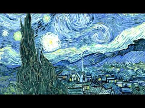 Flying through paintings - The Starry Night