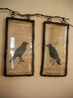 Black Crow DIY accents