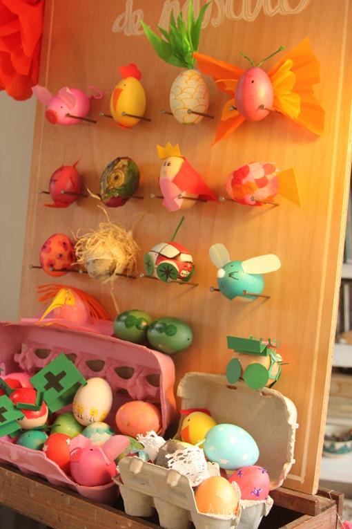 panel huevos de pascua atrevete a DIY
