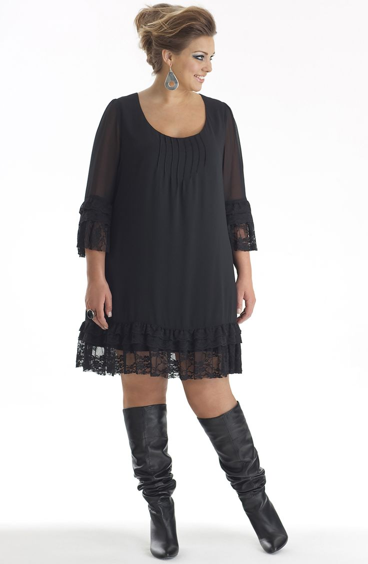 - Dresses - Dresses - Plus Size  Larger Sizes Womens Clothing at Dream Diva, Australia, Fashion, Clothes, Sized, Womens Women Big Size Clothes - http://amzn.to/2ix7dK5