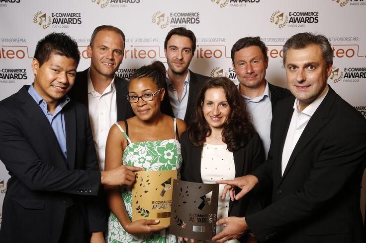 @YvesTyrodeVSNCF et Thomas Jeanjean remettent l'E-commerce Award 2013 à l'équipe de @CommerceGuys #ECP13 #Awards