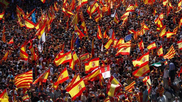 Δημιουργία - Επικοινωνία: Στους δρόμους ξανά οι Καταλανοί - Διαδήλωσαν κατά ...