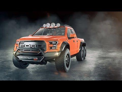 Nasce um novo Monstro (com tração 6x6 e mais de 600cv)! Conheça a nova Raptor preparada pela Hennessey | AutoVídeos