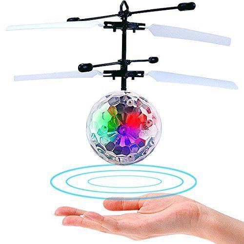 Hand Flying Ball Helicopter Toy For Kids RC Smart Flash Light Infrared Induction #HandFlyingBallHelicopter