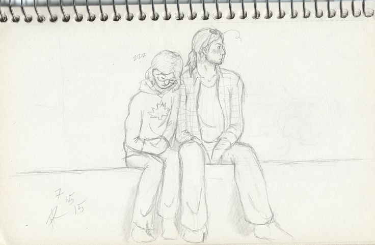 I had the sudden thought, what if Matthew and James had met on a crowded subway, when Mattie got tired and accidentally fell asleep against the person next to him, then found a random phone number in his pocket~ (I'M REALLY PROUD OF JAMES' BLUSHY FACE, OKAY?)