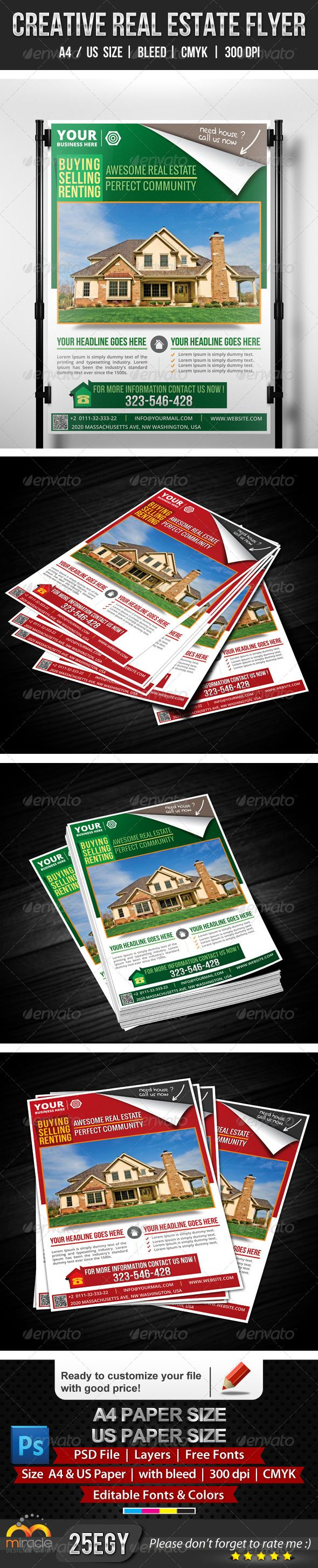 17 best images about real estate flyer templates creative real estate flyer