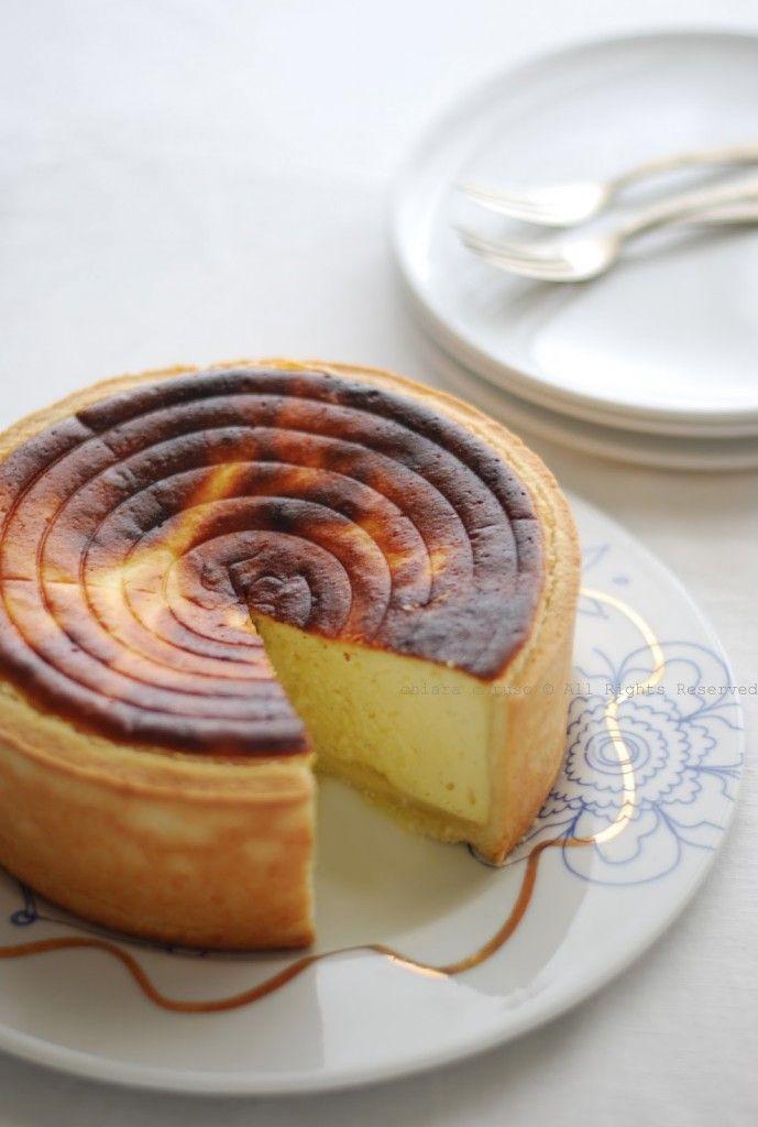 Tarte au Fromage Blanc - OTTIMA - Ingredienti per una torta di 22cm diametro: per la base- farina00 250g, burro 125g, acqua fredda 50 ml, sale una pizzico, per il ripieno - quark magro 500g, uova bio 3, amido di mais 50g, zucchero 150g, IMPORTANTE: fare Raffreddare CAPOVOLTA