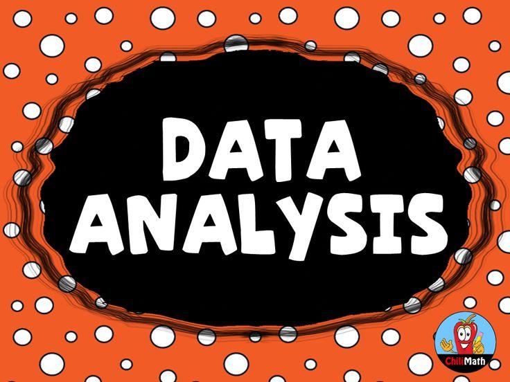37 best Data Analysis images on Pinterest Math anchor charts - data analysis