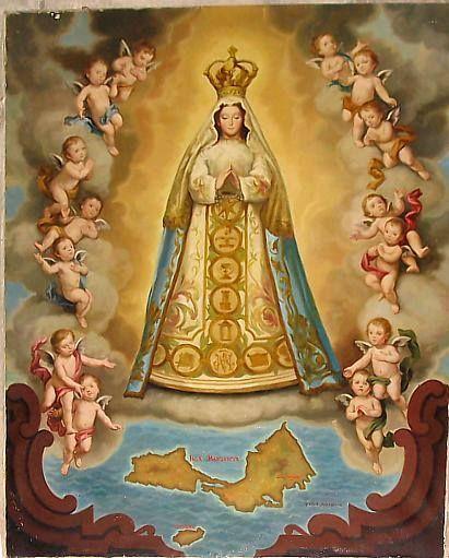 Patrona de la Isla Margarita - La Virgen del Valle