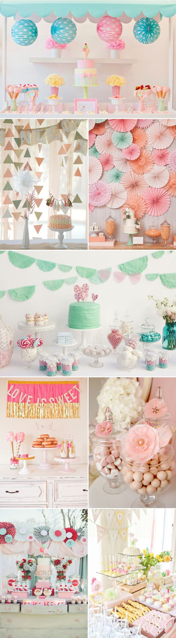 21 Adorable Dessert Table Ideas