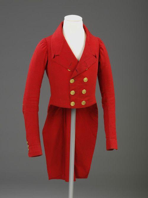 Hunting Jacket  1810-1820  The Victoria & Albert Museum