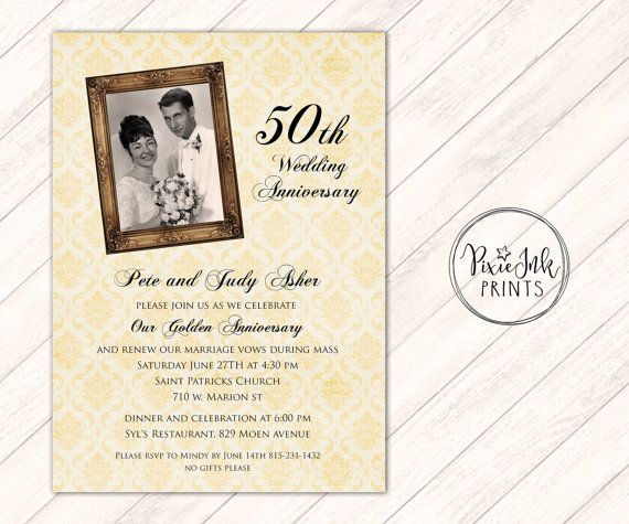 Cheap 50th Wedding Anniversary Invitations: Best 25+ Wedding Anniversary Invitations Ideas On