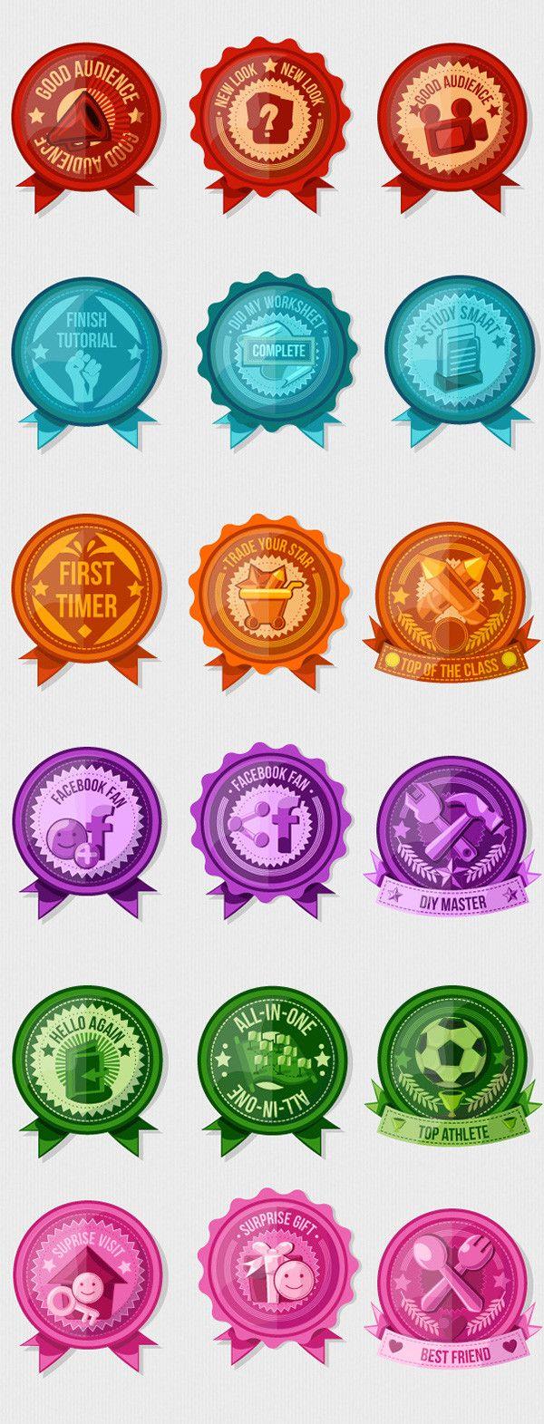 Achievement Badges &...