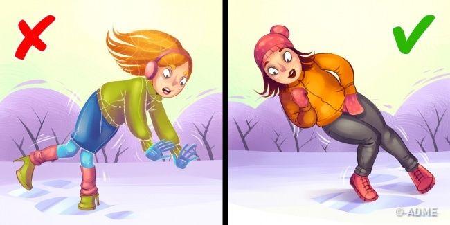 Правила поведения зимой, которые нужно соблюдать и взрослым, и детям....