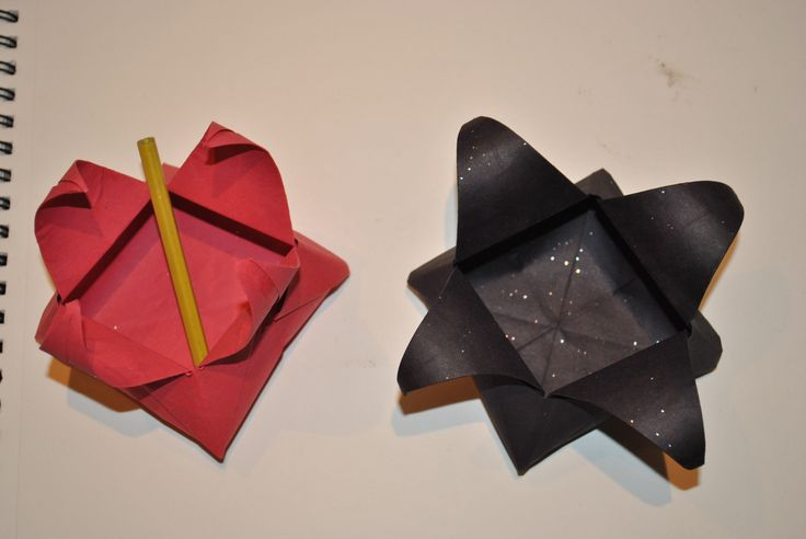 Origami Star Box... Easy and Quick... Ideal for chocolates and accessories