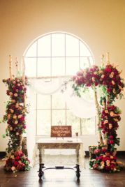 Planned and designed by Weddings by StarDust