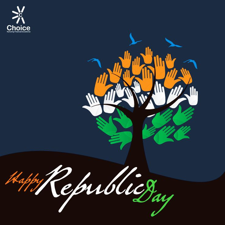 """#OneNation #OneVision #OneIdentity """"No Nation is perfect, it needs to be made perfect"""" #MeriPehchaan #MeraIndia @ChoiceBroking wishes you #Happy #Republic #Day"""