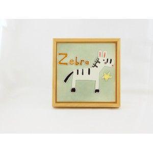 Porcelain Tile Frame Zebra