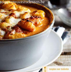 Spek Tomaat en Mozzarella Gnocchi