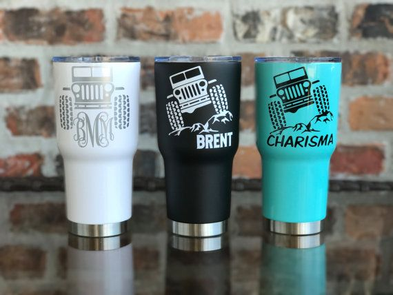 Best Yeti Decals Images On Pinterest Yeti Decals Tumblers - Jeep vinyls for yeti cups