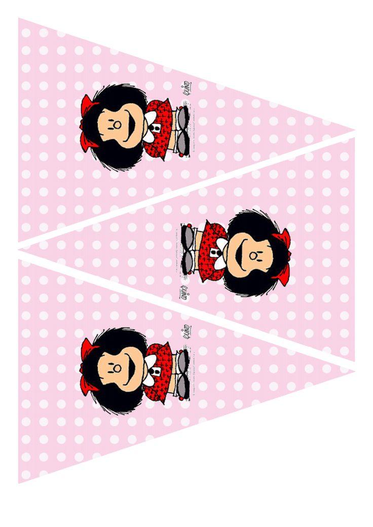 Kit de fiesta Mafalda Google Drive Cumpleaños mafalda