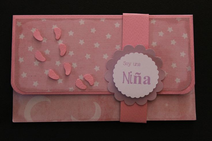 Lluvia de sobres baby shower Envelope - money holder