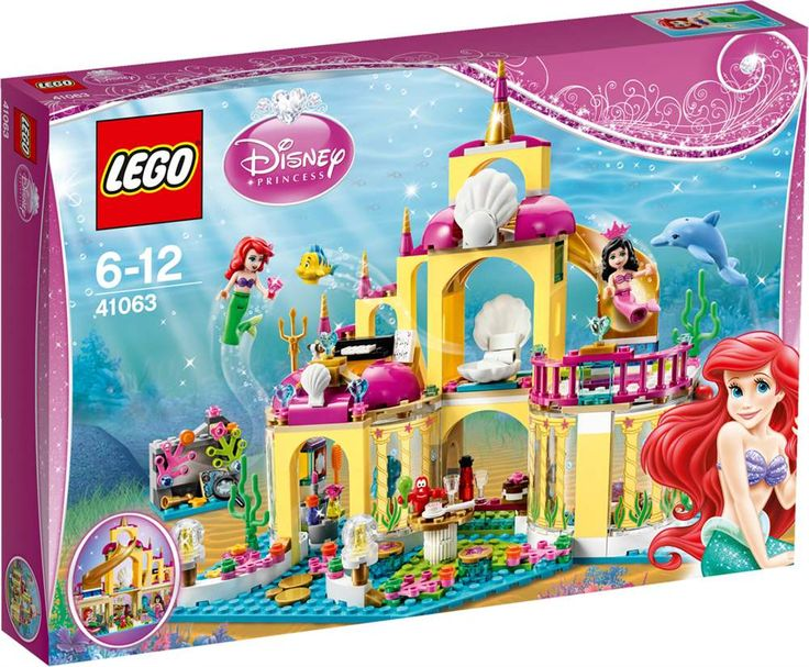 Kjøp LEGO Disney Princess, Ariels sjøpalass - fra Lekmer.no