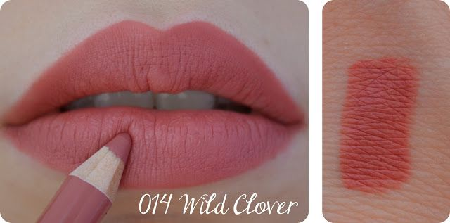 Rimmel's lip pencil - 014, Wild Clover - I wear this lipliner all the time, it is the BEST!