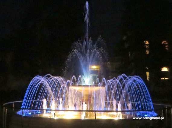 Fontanna na Parterach Hellwiga - Ciechocinek, zdjęcia miast, galeria zdjęć