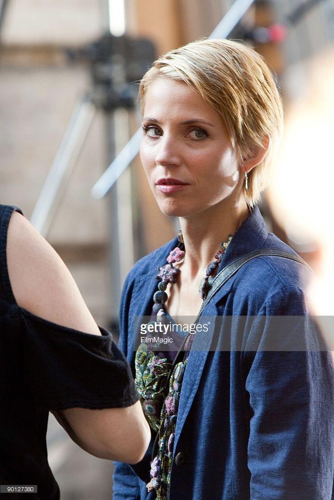 Italian actor Luca Argentero ans Swedish actress Tuva Novotny are seen on set of the movie 'Eat...
