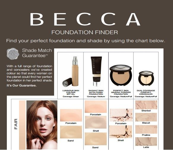 becca foundation finder fair