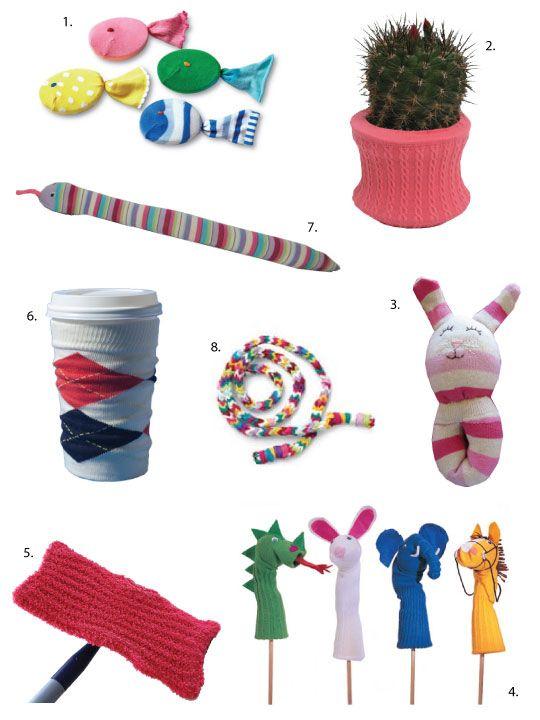 Dryer Survivors: What To Make with Leftover Socks