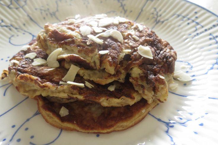 Een heerlijk gezond pannenkoeken recept : bananenpannenkoekjes zonder suiker. Slechts drie ingrediënten en bijzonder snel klaar!
