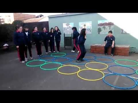 Juegos Educación Física - campo de minas YouTube