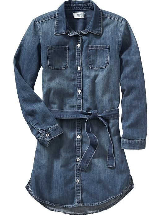 1000  ideas about Girls Denim Dress on Pinterest | One good thread ...