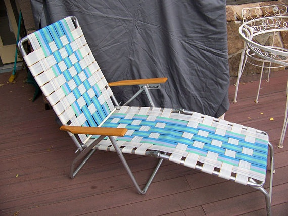 Aluminum Folding Lawn Chairs In 2019 Vintage Outdoor