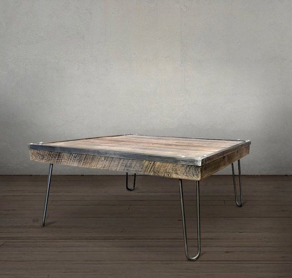 Suffolk Simplicity Reclaimed Wood Square Industrial Coffee: 25+ Best Ideas About Reclaimed Wood Coffee Table On