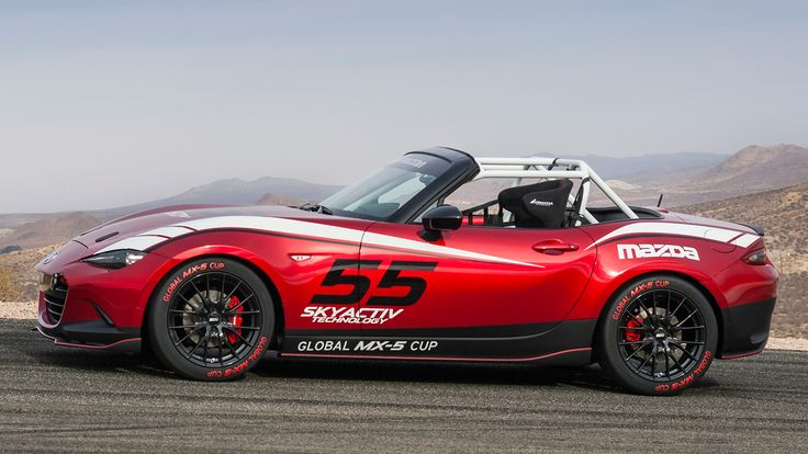 Photos: 2016 Mazda MX-5 Miata Cup Car - Road & Track | Pinned by FlanaganMotors.com, Missoula, MT