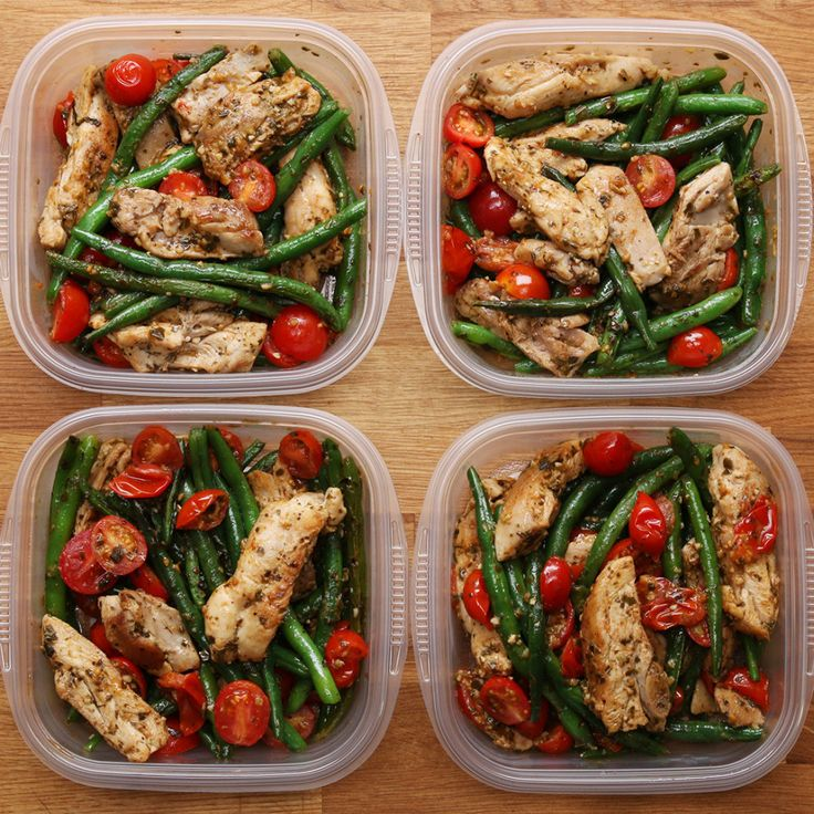 Treat yourself to some snacks! http://amzn.to/2oEqnkm This Easy Pesto Chicken And Veggie Recipe Is Perfect For Meal Prep