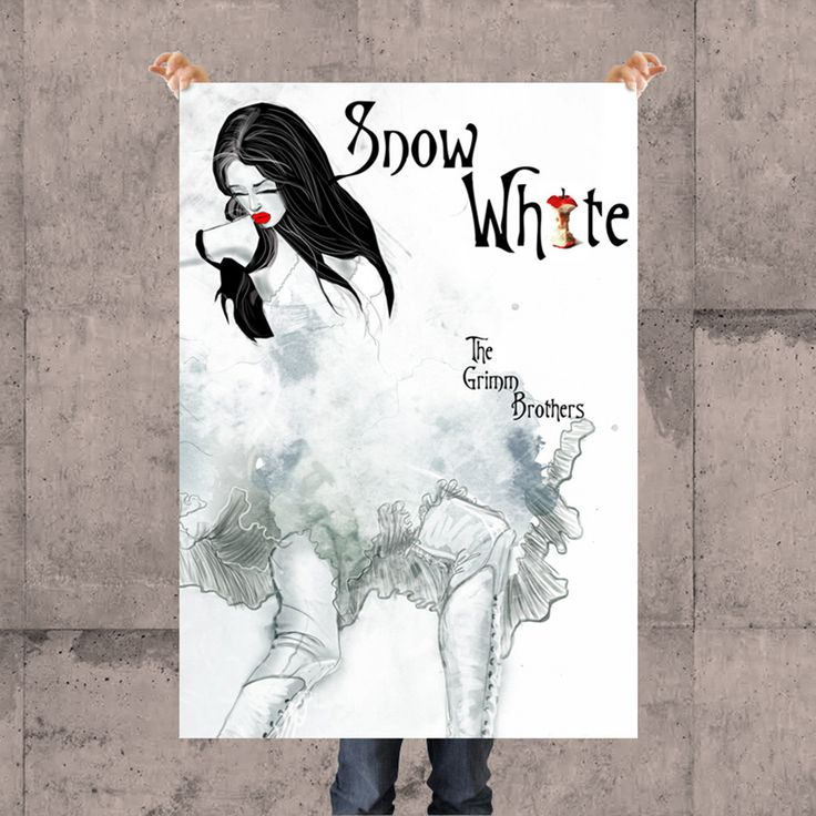 SNOW WHITE POSTER BY KSANEEMPIRE FOR MOLEECO CLOTHING Special collection of posters designed by KsanaEmpire specifically for moleeco clothing. Most of the themes of the posters are also available on clothings.  Our posters are printed on high quality paper.