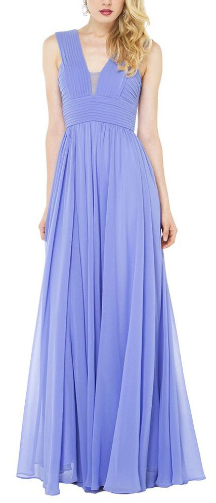 #Periwinkle #pleated #maxi