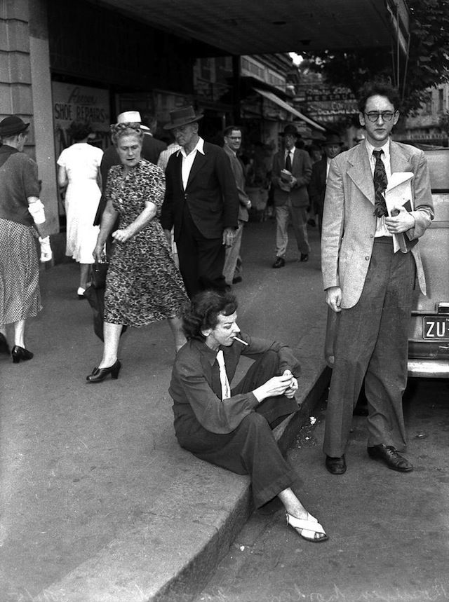 Bohemian Artist Rosaleen Norton, the Witch of Kings Cross. 30 January, 1950. SMH NEWS Picture by STAFF