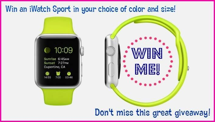 Here's a #giveaway for anybody to enter, sponsored by Dr. Tobias. #Prize – #iWatch