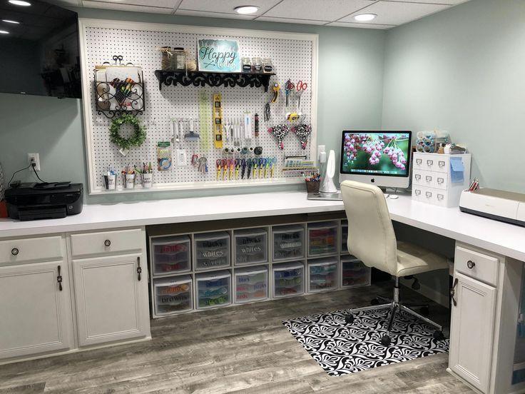Craft Rooms Taller En Casa Craft Storage Basement Craft Rooms Craft Room Design Craft Room Office