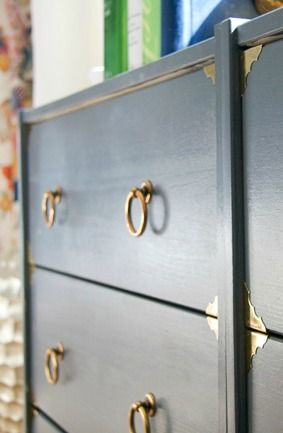 This DIY dresser makeover from Blogger Stephanie, of Glitter and Goat Cheese, is a cheap and easy way to bring a touch of sophistication to your home. Stephanie used KILZ Spray Primer to ensure that her unfinished wood dresser got even paint coverage and maximum durability. Check out Stephanie's post for more DIY tips and tricks.