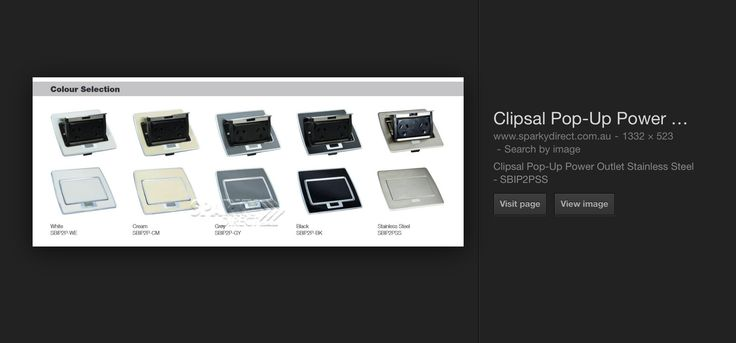 Popup powerpoint by Clipsal