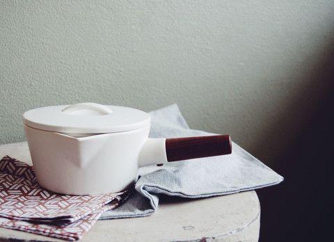 "Pentola in ceramica ""milk pan"" 4th market"